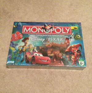 how to play disney pixar monopoly