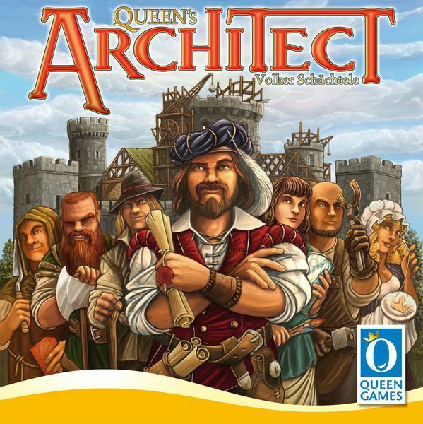 Queen's Architect Board Game New In Hand