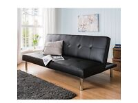 Sienna Sofa Bed (Chocolate colour)