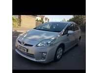 Toyota Prius Hybrid 2011 with PCO badge Uber Leather seats reverse camera