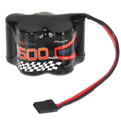 Powerhobby 5 Cell 6V / 6 Volt 1600mAh NiMH Hump Receiver Battery Pack Buggy (Hump Receiver Pack)