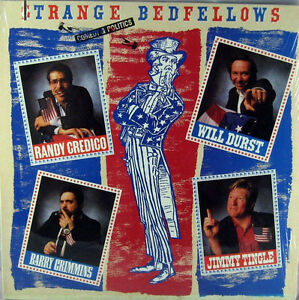 STRANGE BEDFELLOWS Comedy Vinyl 1988 - 4 Stand-Up Artists Kitchener / Waterloo Kitchener Area image 1