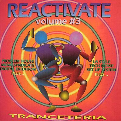 "Reactivate Volume, Tranceteria,12"" Vinyl,Techno/Hardcore Compilation 1991"