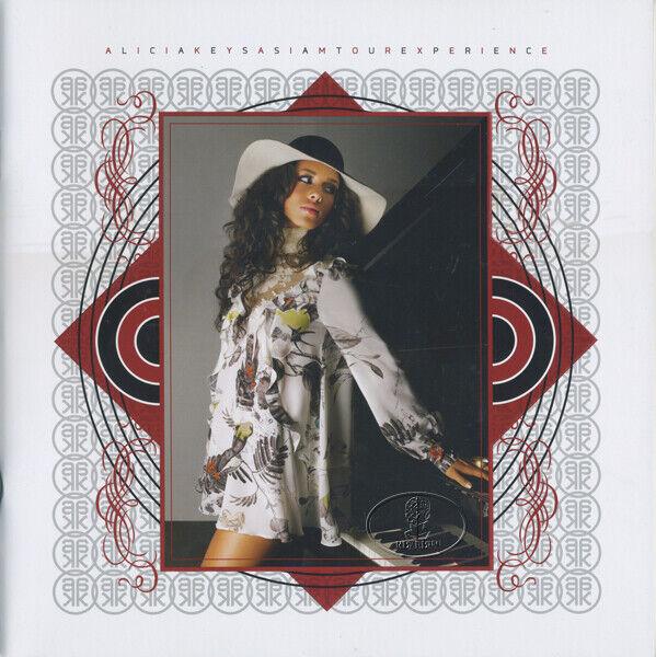 ALICIA KEYS 2008 AS I AM Tour Concert Program Book Tour Book