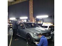 Learn Window Tinting Tints and Vinyl Wraps Wrapping at our Training School Manchester