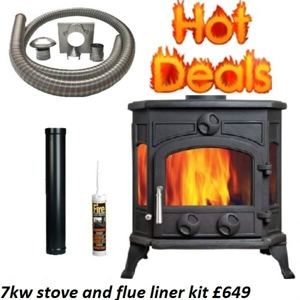 STOVE PACKAGE DEALSOPEN LATE 6 DAYS multi fuel wood burner boiler modern cassette defra stovesin Belfast City Centre, BelfastGumtree - open late 6 days at bt714py beside the m1 motorway stoves starting at £229 free fast delivery flexible and twinwall flue in stock slate hearths only £29 call or txt 07729862524