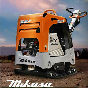 New Multiquip Mikasa One-Way/Reversible Plate Compactors