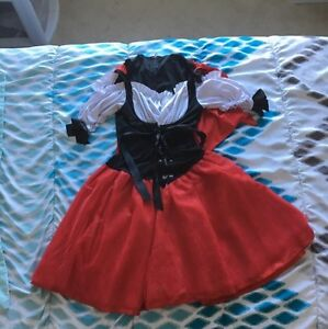 Adult Little Red Riding Hood Halloween Costume