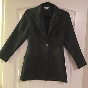 Suzy Petites Black Sleeveless Dress & Blazer