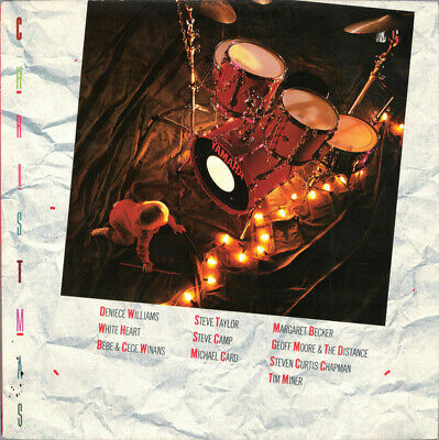 Various - Christmas (1988) Sparrow Records CCM artists NEW sealed vinyl ()