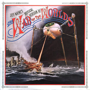 War of the Worlds double LP
