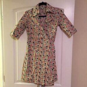 Jacob Connexion Floral Wrap Dress Size 1/2
