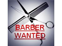 Barber required for busy Shoreham shop. Very good wages