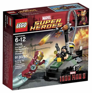 Lego Marvel Super Heroes 76008, new in factory sealed box