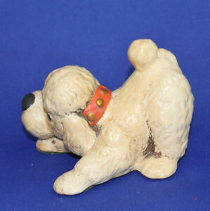 """TINKER ""   POODLE FIGURINE  Bunty is his name Kingston Kingston Area image 2"