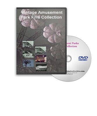 vintage amusement parks roller coasters arcades dvd a85