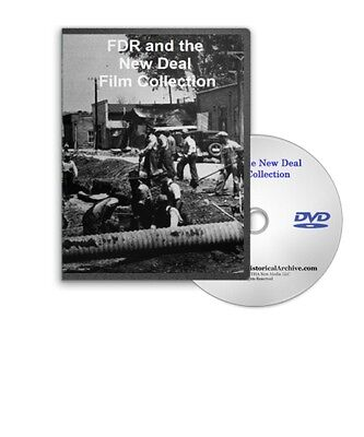 Fdr The Deal - Wpa Nha Nra Ssa History Films On Dvd - A181
