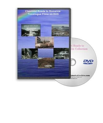 chevrolet roads romance 1940s 1950s travelogue film series dvd a139