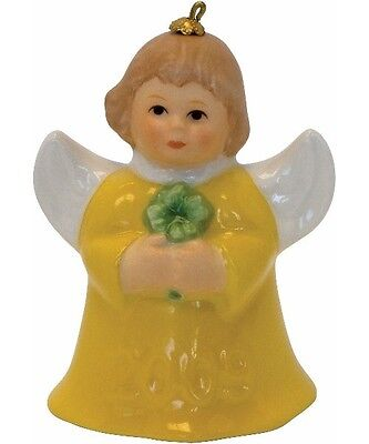 Goebel 2009 Annual Angel Bell Yellow Angel with Shamrock NEW NIB on Rummage