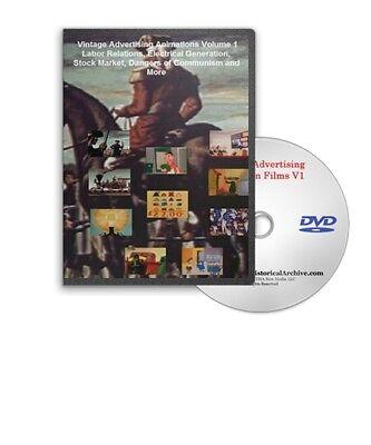 Vintage Stock Market Cold War Communism Retirement More Animated Ads DVD A47