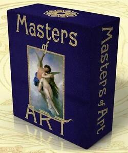 MASTERS of ART 26,000 fine art prints on one data DVD!