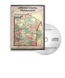 Jefferson-County-Pennsylvania-PA-History-Culture-Genealogy-5-Books-D391