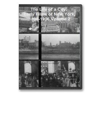 Historic New York City NYC Films 1896 1906 V2 on CD B113