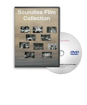 Soundies Classic Music Videos From The 1940s 50s Jazz Harlem Review Etc DVD A277