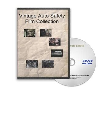 Vintage Auto Safety &amp Safe Driving &quot Signal 30&quot Film Collection on DVD