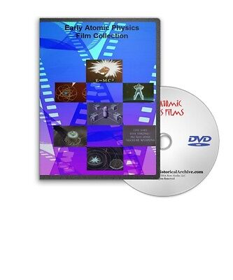 Atomic Physics Films Nuclear Reactors Atomic Bombs DVD A155