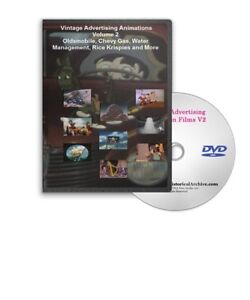 Vintage Oldsmobile, Chevrolet, More Animated Ads DVD - A49