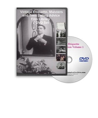 1950s Etiquette Emily Post Courtesy Manners Dining 20 Films on 2 DVDs A103 04