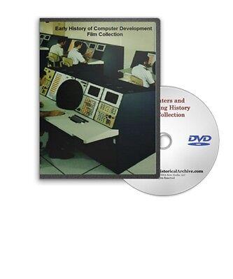 1950s 60s Computer History Films Cold War SAGE IBM NASA DVD A175