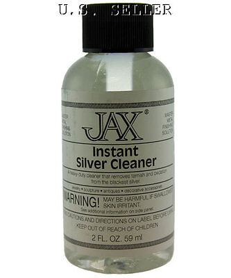 Instant Silver Cleaner Solution 2 Oz Bottle By Jax