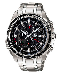 CASIO-EF545D-1AV-EDIFICE-MENS-BLACK-DIAL-STAINLESS-STEEL-CHRONOGRAPH-WATCH-100M