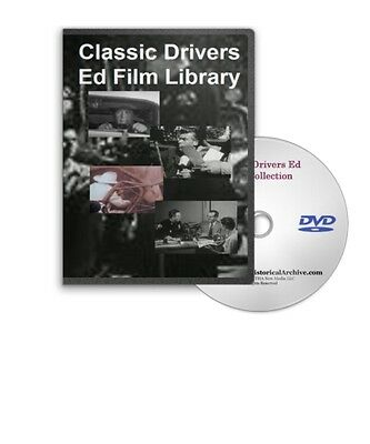 Vintage Auto Accident Drivers Ed Shock Scare Films Signal 30 DVD A19