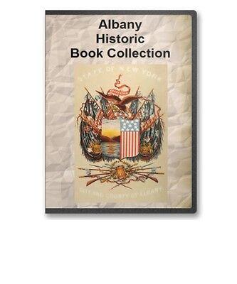 Albany, Ny York History Culture Genealogy Vital Records 16 Book Set - D77