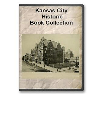 Kansas City MO Missouri History Culture Industry Genealogy 11 Book Set D51
