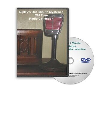 Ripley&apos s One Minute Mysteries 416 OTR Old Time Radio Shows MP3 DVD A425
