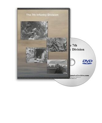 The 7th Infantry Division - Hour Glass Division - Wwii Japan / Okinawa - C21