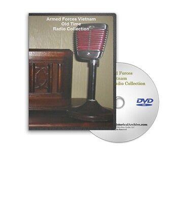 Armed Forces Vietnam War AFVN 148 OTR Old Time Radio Shows MP3 DVD A339