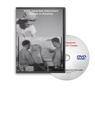 WWII Japanese Internment Camps In America DVD A515