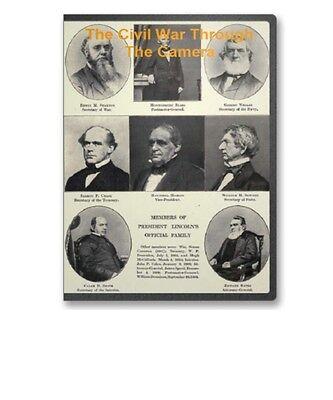 The Civil War Through The Camera on CD 16 Books Hundreds of Photos B227
