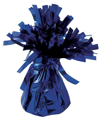 Balloon Table Weights (12 Royal Blue Foil Table Balloon Weights - 85g Table Party Bag Fillers)