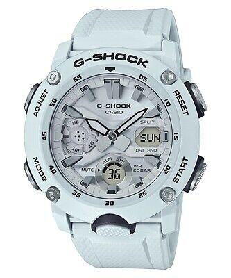 Casio G-Shock Carbon Core Guard Structure Rubber Strap Men's Watch GA2000S-7A (Casio Core Digital Watch)