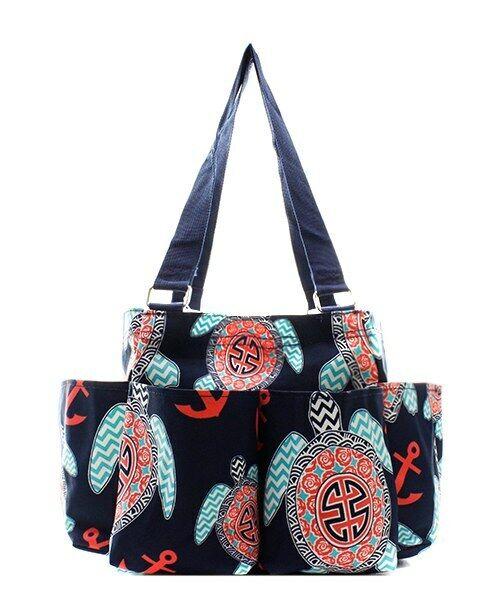 Turtle Beach NGIL Small Zippered canvas purse Caddy Organize