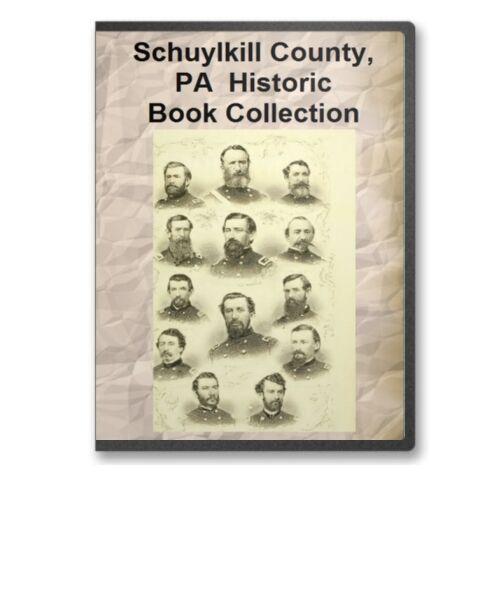 Schuylkill County PA Pennsylvania History Family Tree Genealogy 9 Book Set - D29