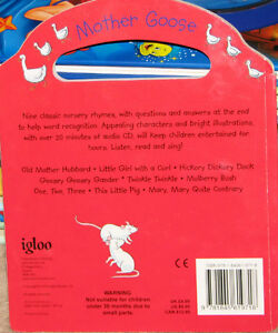 Mohter Goose Children's Read Along Story Book with CD - NEW London Ontario image 2