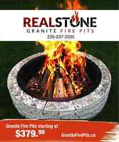 Granite Fire Pits!
