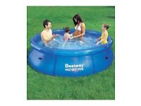 Bestway Fast Set Swimming Pool 8ft Brand New